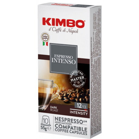 Kimbo Intenso pre Nespresso, 10x5,8g